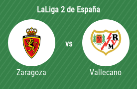 Real Zaragoza SAD vs Rayo Vallecano de Madrid