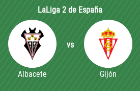 Albacete Balompié vs Real Sporting de Gijón