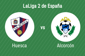 Sociedad Deportiva Huesca vs Agrupación Deportiva Alcorcón