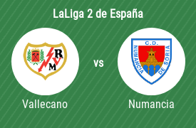 Rayo Vallecano de Madrid vs Club Deportivo Numancia