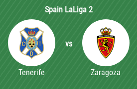Club Deportivo Tenerife vs Real Zaragoza SAD