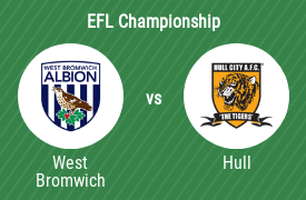 West Bromwich Albion FC vs Hull City AFC