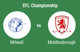 Millwall Football Club vs Middlesbrough FC