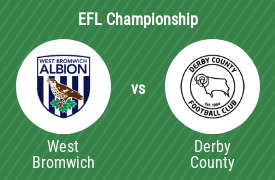 West Brom vs Derby County