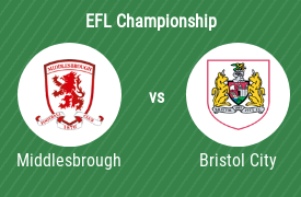 Middlesbrough FC mot Bristol City FC