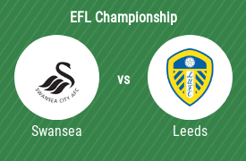 Swansea City AFC mot Leeds United FC