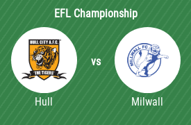 Hull City AFC mot Millwall Football Club