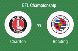 Charlton Athletic FC mot Reading Football Club