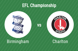 Birmingham City Football Club vs Charlton Athletic FC