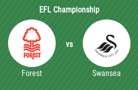 Nottingham Forest FC vs Swansea City AFC