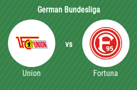1. FC Union Berlin vs Fortuna Dusseldorf