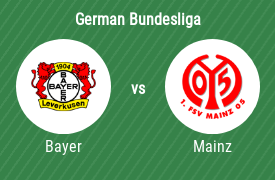 Bayer Leverkusen vs FSV Mainz 05