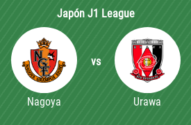 Nagoya Grampus Eight vs Urawa Red Diamonds