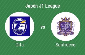 Oita Trinita vs Sanfrecce Hiroshima