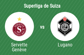 Servette Football Club Genève vs Football Club Lugano