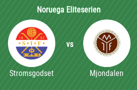 Stromsgodset IF vs Mjondalen IF