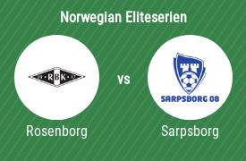Rosenborg Trondheim vs Sarpsborg 08 FF