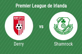Derry City Football Club vs Shamrock Rovers Football Club