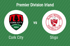Cork City Football Club mot Sligo Rovers Football Club