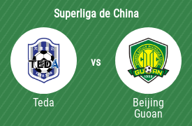 Tianjin Teda Football Club vs Beijing Sinobo Guoan