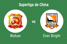 Wuhan Zall Football Club vs Shijiazhuang Ever Bright