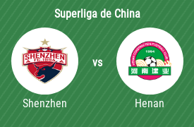 Shenzhen Football Club vs Henan Jianye Football Club