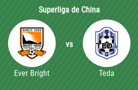 Shijiazhuang Ever Bright vs Tianjin Teda Football Club