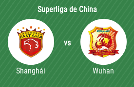 Shanghái SIPG vs Wuhan Zall Football Club