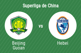 Beijing Sinobo Guoan vs Hebei China Fortune