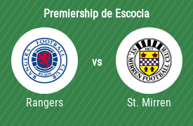Rangers Football Club vs Saint Mirren Football Club