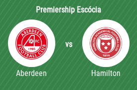 Aberdeen Football Club vs Hamilton Academical FC