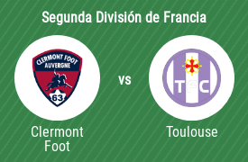 Clermont Foot 63 vs Toulouse Football Club