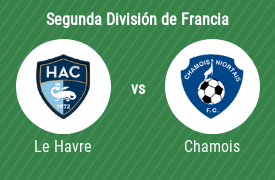 Le Havre AC vs Chamois niortais Football Club