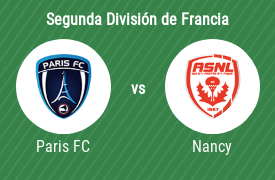 Paris Football Club vs AS Nancy