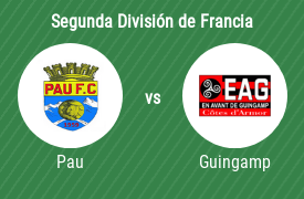Pau Football Club vs En Avant de Guingamp