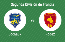 Sochaux FC vs Rodez Aveyron Football