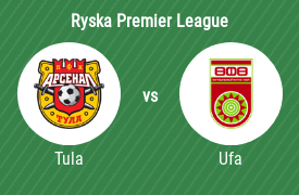 FC Arsenal Tula mot Football Club Ufa