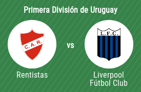 Club Atlético Rentistas vs Liverpool Fútbol Club