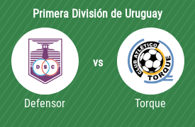 Defensor Sporting Club vs Club Atlético Torque