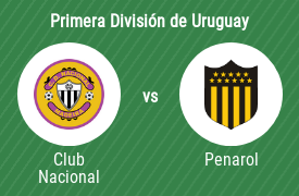 Club Nacional de Football vs Club Atlético Peñarol