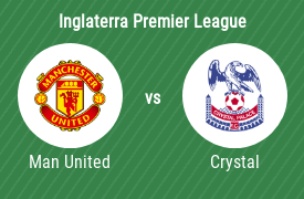 Manchester United Football Club vs Crystal Palace Football Club
