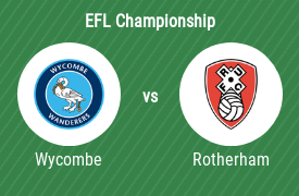 Wycombe Wanderers Football Club mot Rotherham United FC